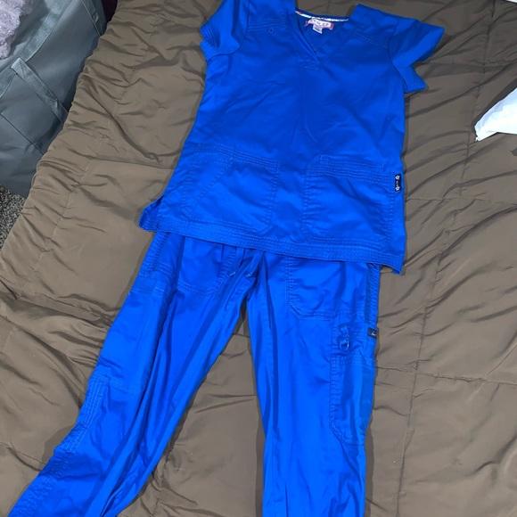 Koi Navy blue scrubs